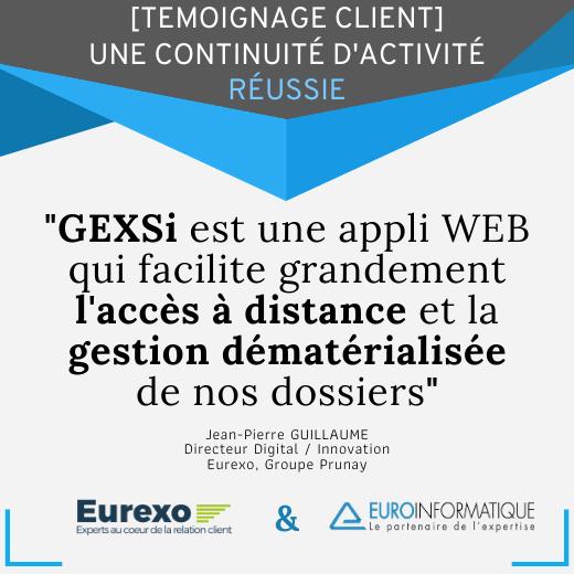 Témoignage client: GEXSi facilite le travail à distance en période de confinement !