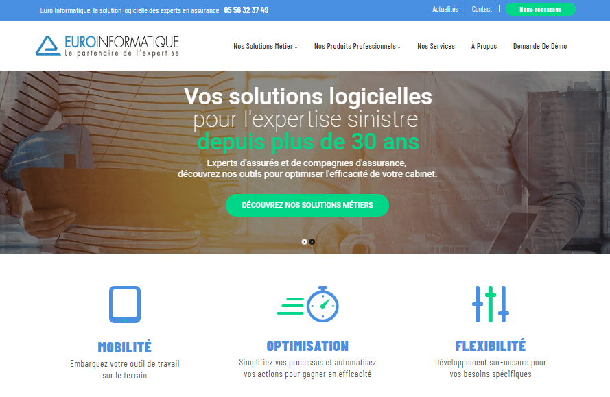 Le nouveau site web d'Euro Informatique est en ligne