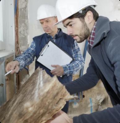 Expert IARD sur un chantier