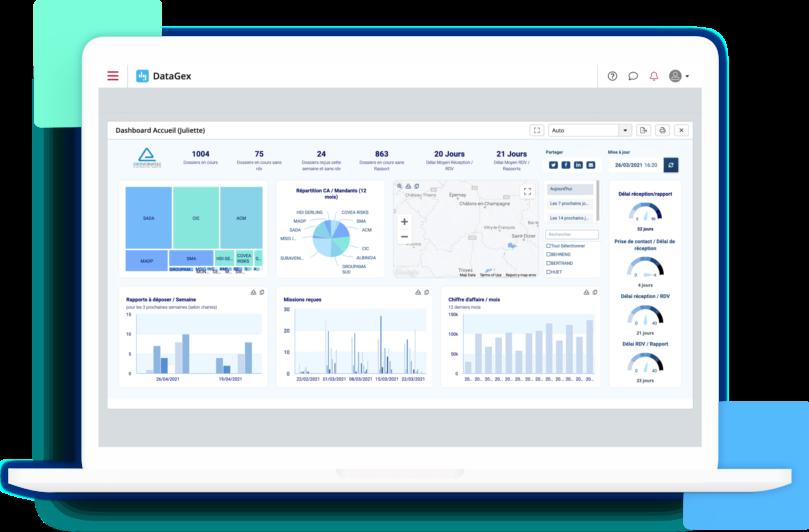 DataGex l'outil de pilotage des pros de la gestion de sinistre